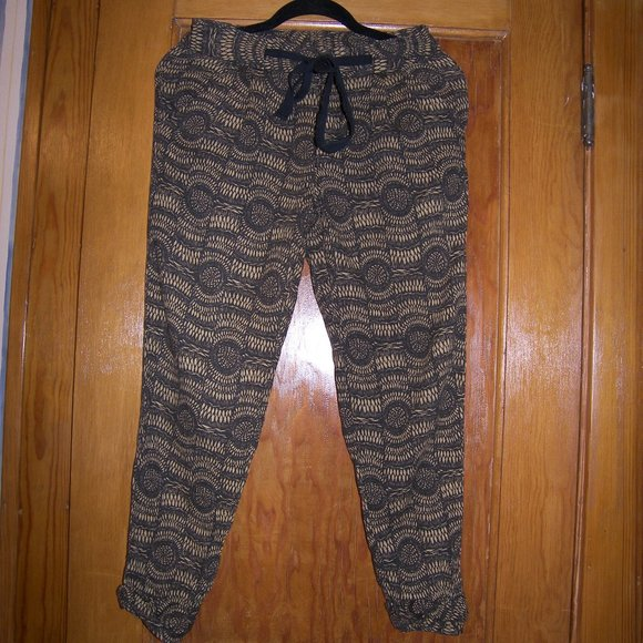 Free People Pants - Free People Basket Weave Trackies Button Up  $128